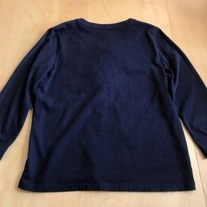 J. Crew Tops - J. Crew Lace-Up Blouse in Blue